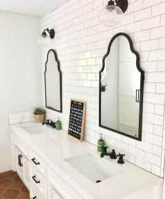 50 Lighting For Farmhouse Bathroom Ideas Decorating And Remodel (45)