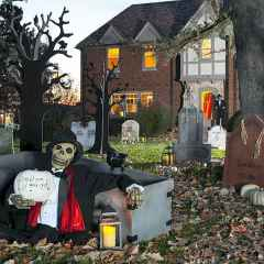 60 DIY Outdoor Halloween Decorations Ideas And Makeover (21)