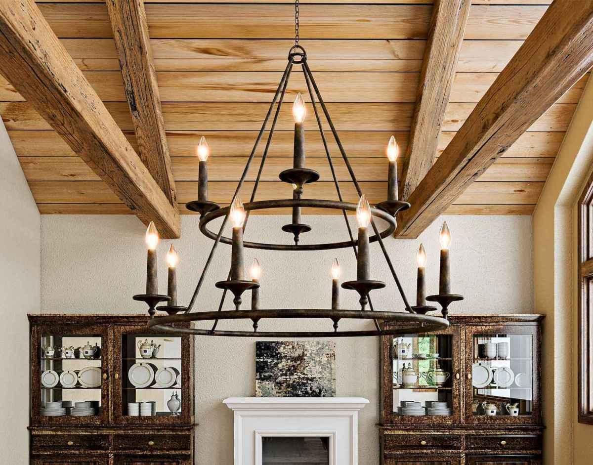 60 Farmhouse Living Room Lighting Ideas Decor And Design (12)