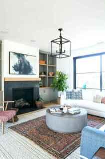60 Farmhouse Living Room Lighting Ideas Decor And Design (38)