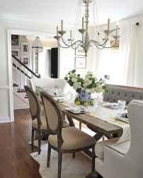 60 Modern Farmhouse Dining Room Table Ideas Decor And Makeover (17)