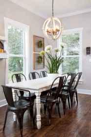 60 Modern Farmhouse Dining Room Table Ideas Decor And Makeover (33)