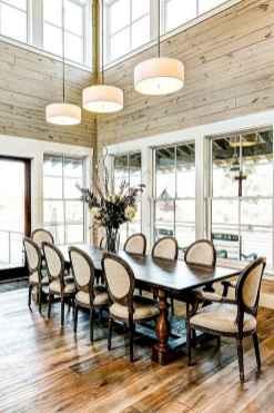 60 Modern Farmhouse Dining Room Table Ideas Decor And Makeover (37)
