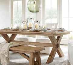 60 Modern Farmhouse Dining Room Table Ideas Decor And Makeover (59)