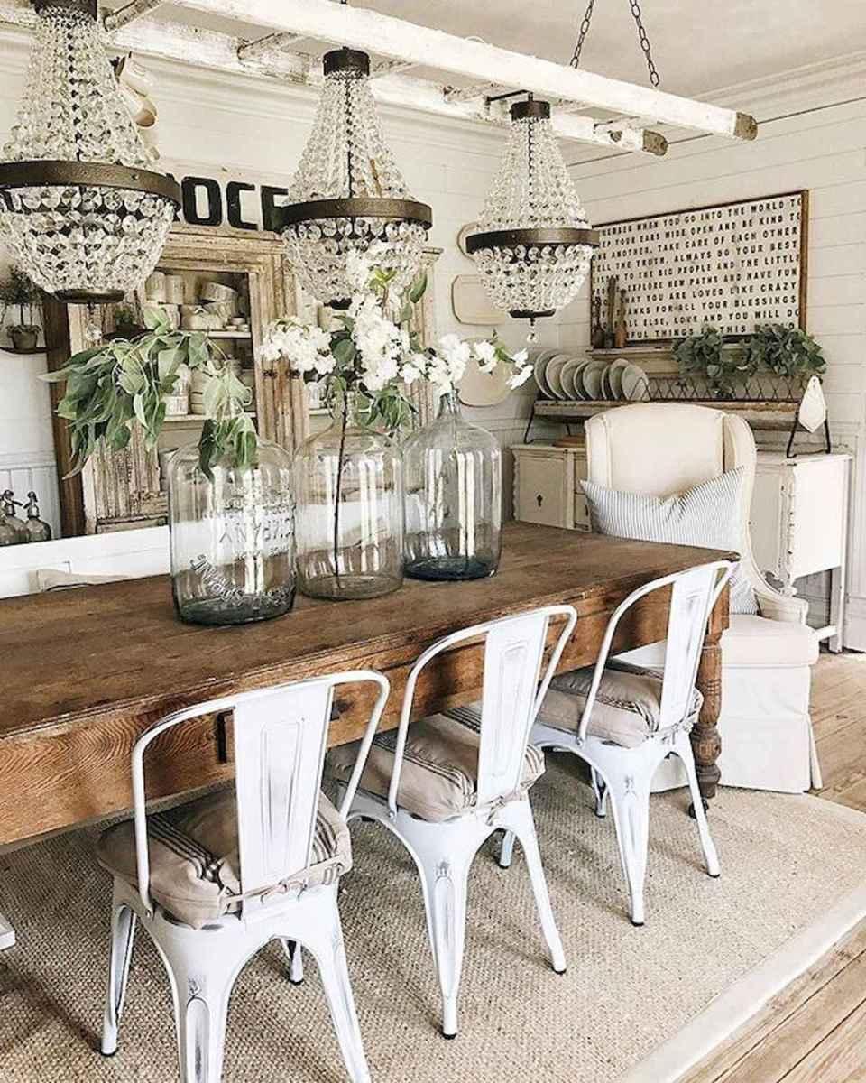 60 Modern Farmhouse Dining Room Table Ideas Decor And ...