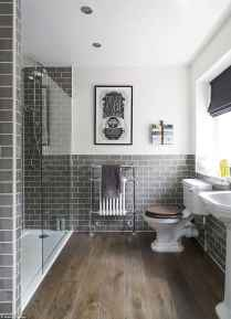 70 Inspiring Farmhouse Bathroom Shower Decor Ideas And Remodel (12)