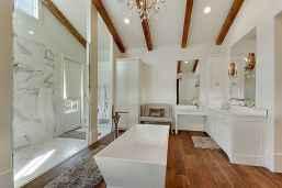 70 Inspiring Farmhouse Bathroom Shower Decor Ideas And Remodel (30)