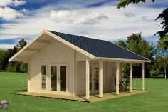 90 Beautiful Summer House Design Ideas And Makeover (17)