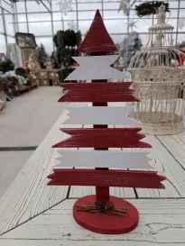 30 Rustic And Vintage Christmas Tree Decor Ideas (11)