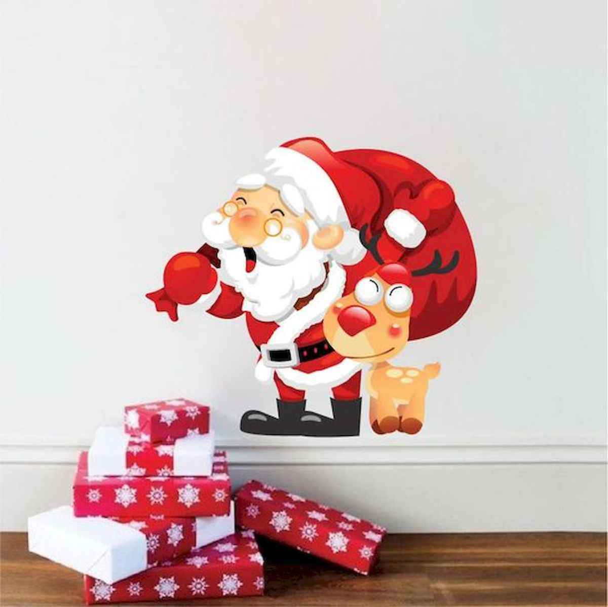 35 Awesome Apartment Christmas Decor Ideas (30)