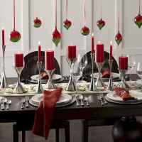35 Beautiful Christmas Decor Ideas Table Centerpiece (10)