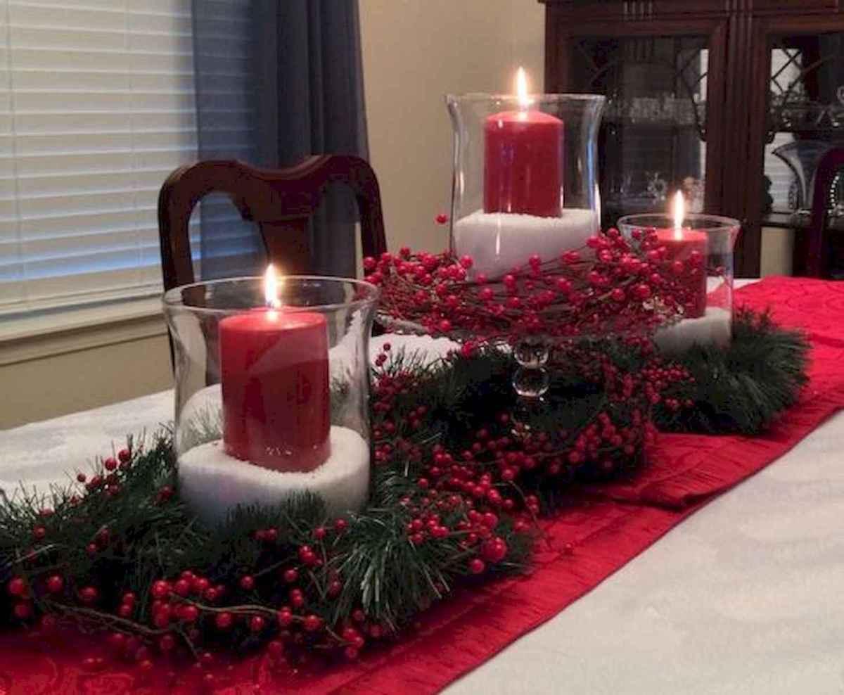 35 Beautiful Christmas Decor Ideas Table Centerpiece (18)