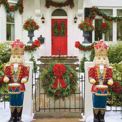 40 Amazing Outdoor Christmas Decor Ideas (32)