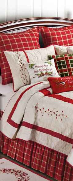 40 Awesome Bedroom Christmas Decor Ideas (13)