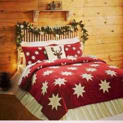 40 Awesome Bedroom Christmas Decor Ideas (19)