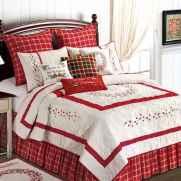 40 Awesome Bedroom Christmas Decor Ideas (23)