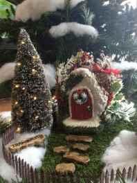 45 Beautiful Christmas Fairy Garden Decor Ideas (19)