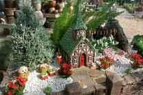 45 Beautiful Christmas Fairy Garden Decor Ideas (2)