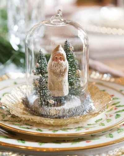 45 Beautiful Christmas Fairy Garden Decor Ideas (22)