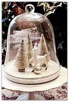 45 Beautiful Christmas Fairy Garden Decor Ideas (30)