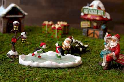 45 Beautiful Christmas Fairy Garden Decor Ideas (32)