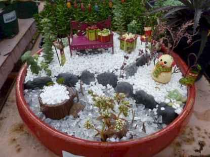 45 Beautiful Christmas Fairy Garden Decor Ideas (39)