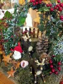 45 Beautiful Christmas Fairy Garden Decor Ideas (5)