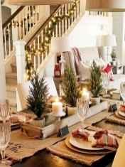 50 Stunning Christmas Table Dining Rooms Decor Ideas (39)