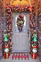 50 Stunning Front Porch Christmas Lights Decor Ideas (16)