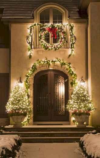 50 Stunning Front Porch Christmas Lights Decor Ideas (39)