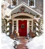 50 Stunning Front Porch Christmas Lights Decor Ideas (42)