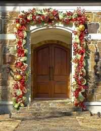 50 Stunning Front Porch Christmas Lights Decor Ideas (7)