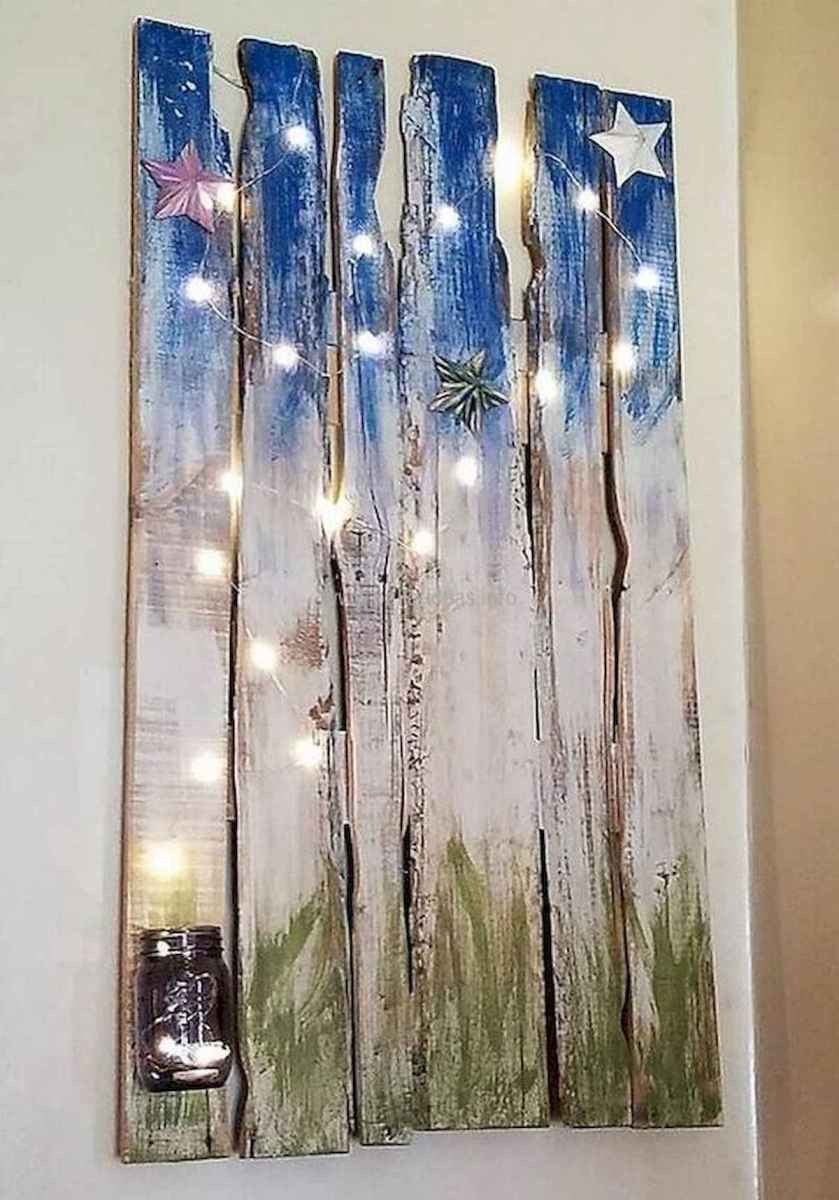 60 Awesome Wall Art Christmas Decor Ideas (52)