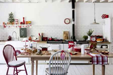 20 Best Christmas Kitchen Decor Ideas And Makeover (9)