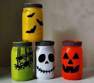 30 Best Creative DIY Mason Jar Halloween Crafts to Spice Up Your Fall Decor (11)