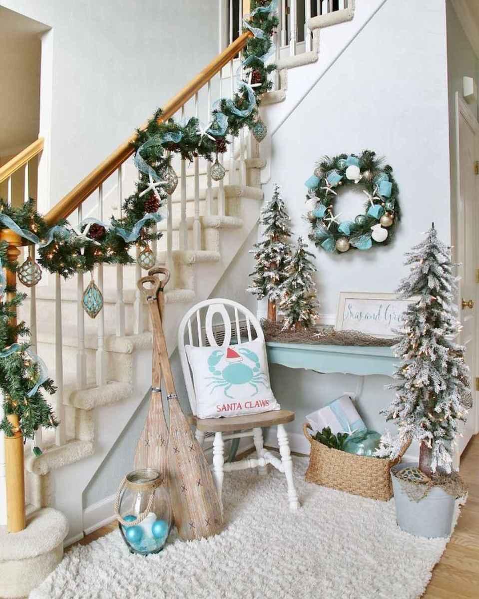 40 Coastal Christmas Decor Ideas And Makeover (10)
