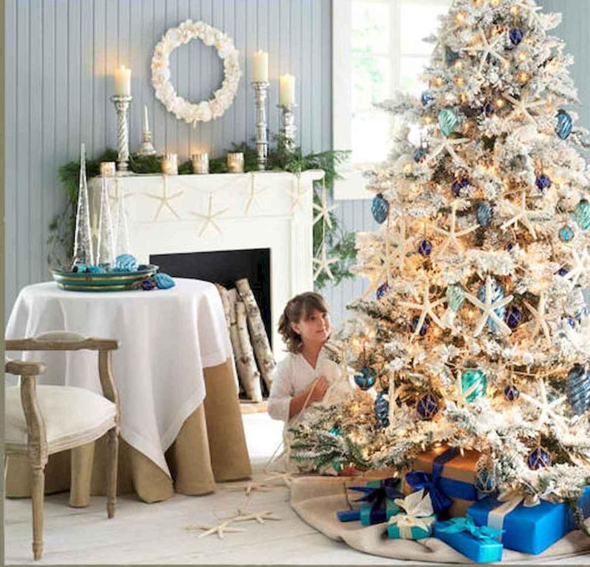 40 Coastal Christmas Decor Ideas And Makeover (39)