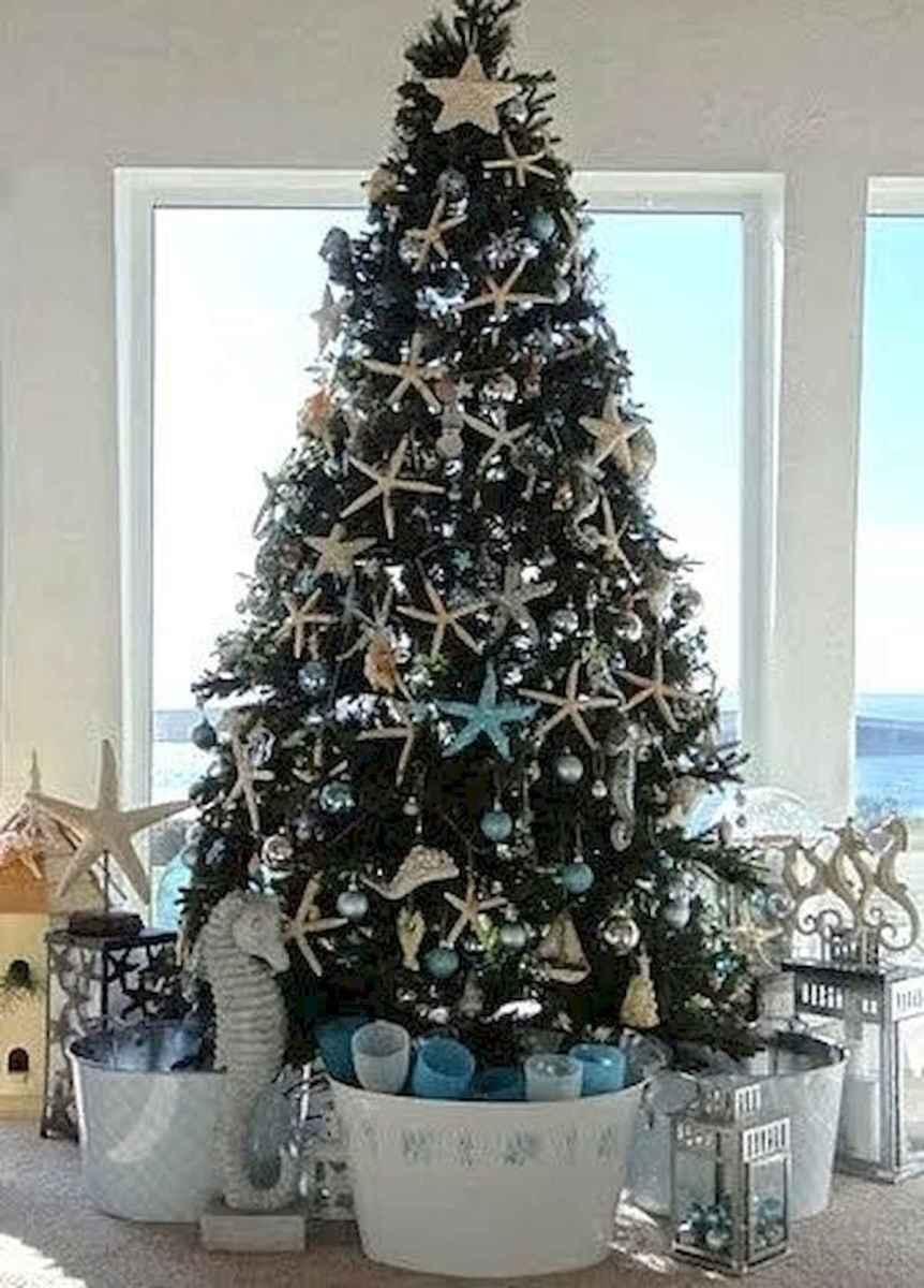 40 Coastal Christmas Decor Ideas And Makeover (7)