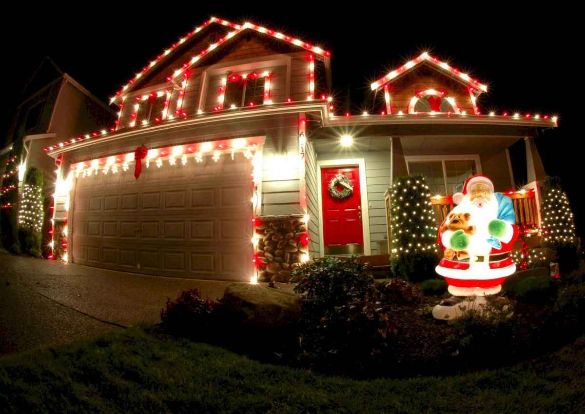 50 Awesome Outdoor Christmas Decor Ideas And Makeover (28)