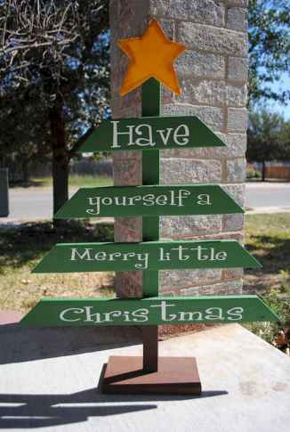 50 Awesome Outdoor Christmas Decor Ideas And Makeover (44)