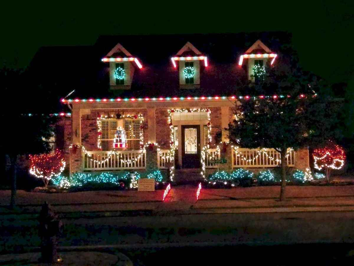 50 Awesome Outdoor Christmas Decor Ideas And Makeover (8)