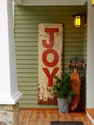 50 Christmas Front Porch Decor Ideas And Makeover (3)