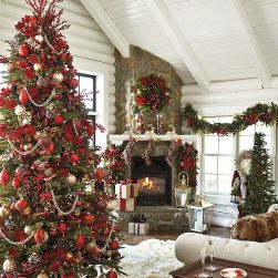50 Christmas Front Porch Decor Ideas And Makeover (4)