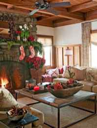 60 Best Farmhouse Christmas Decorating Ideas And Makeover (16)