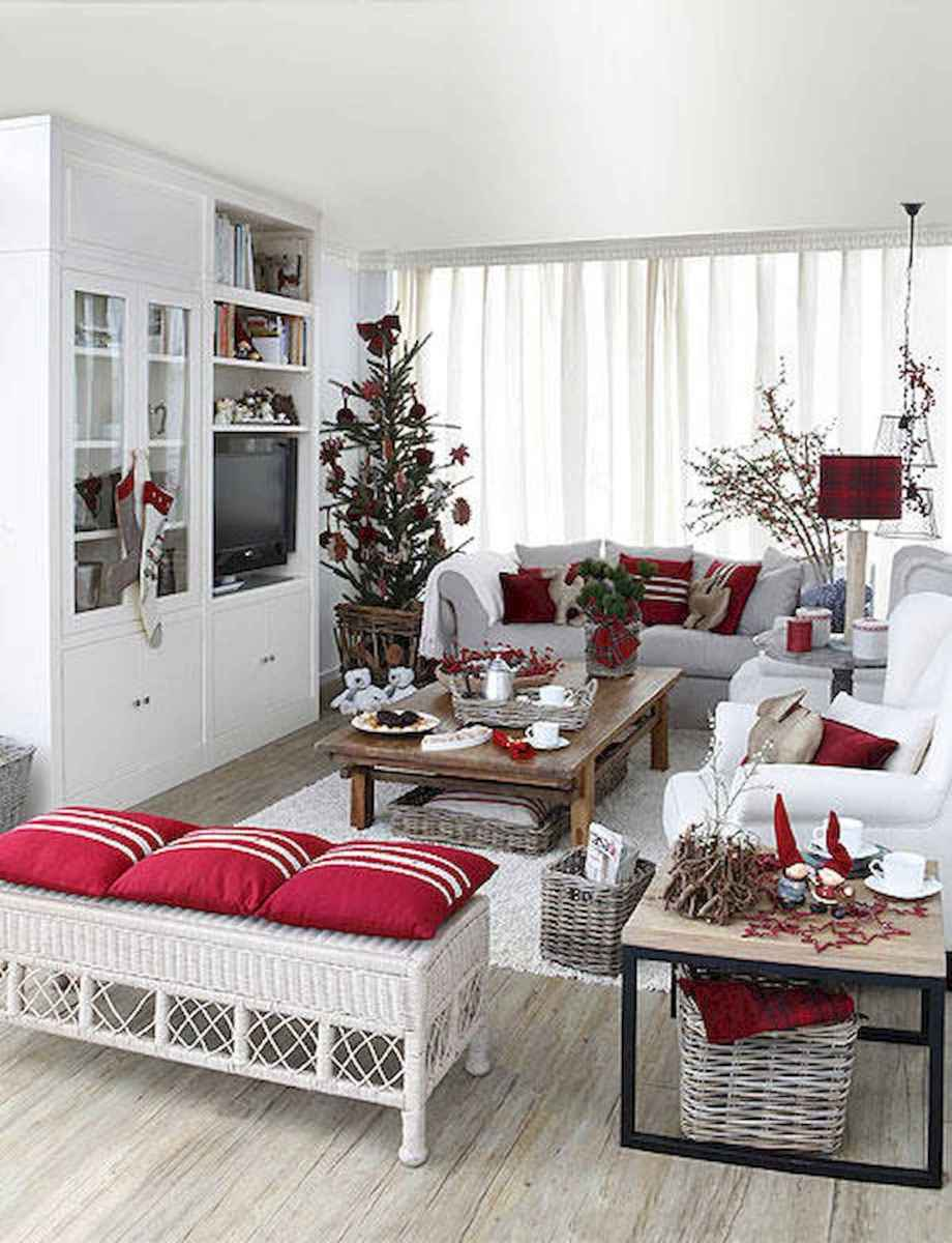 60 Best Farmhouse Christmas Decorating Ideas And Makeover (33)