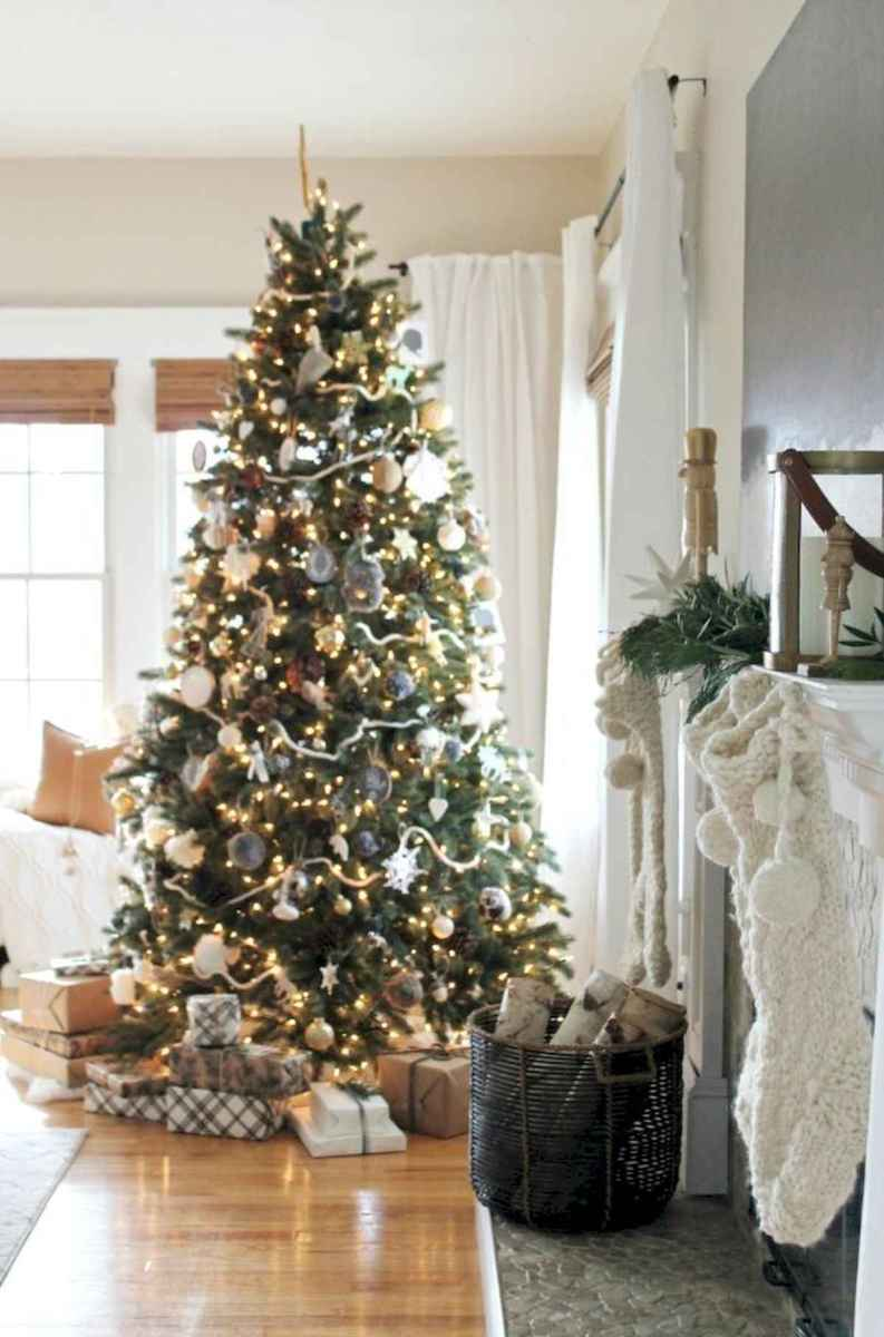 60 Best Farmhouse Christmas Decorating Ideas And Makeover (37)