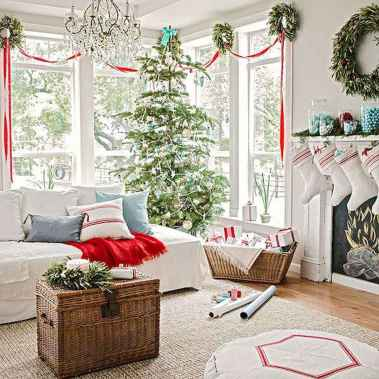 60 Best Farmhouse Christmas Decorating Ideas And Makeover (45)