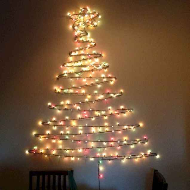 70 Best Christmas Lights Apartment Decorating Ideas And Makeover (69)