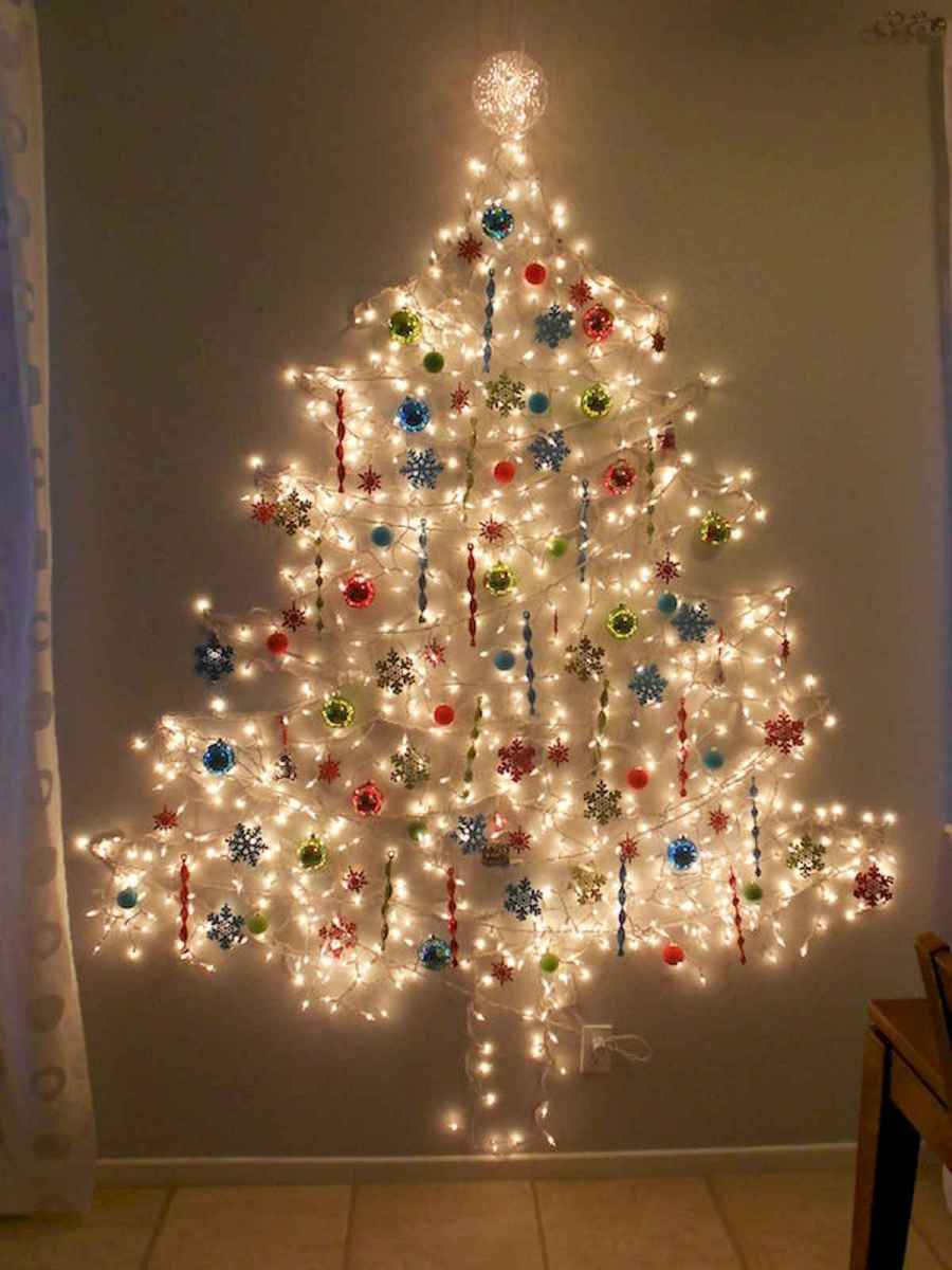 70 Best Christmas Lights Apartment Decorating Ideas And Makeover (8)