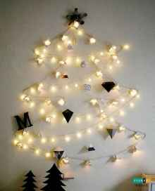 70 Best Christmas Lights Apartment Decorating Ideas And Makeover (9)